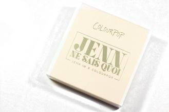 ColourPop x Jenn Im Jenn Ne Sais Quoi Super Shock Eyeshadows